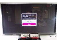 "LG 50"" 3D Smart TV with Remote & 3D Glasses, Model 50PB690V - 0306057"
