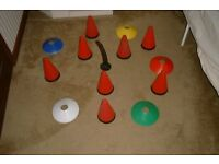 sports cones & markers