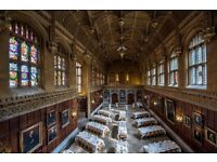 Kings College Cambridge Part Time/ Casual Waiting and Food & Beverage Services Staff