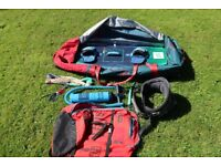 North Kiteboarding complete setup - Excellent condition