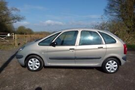 2002 Citroen Xsasra Picasso Diesel Manual with Long MOT PX Welcome