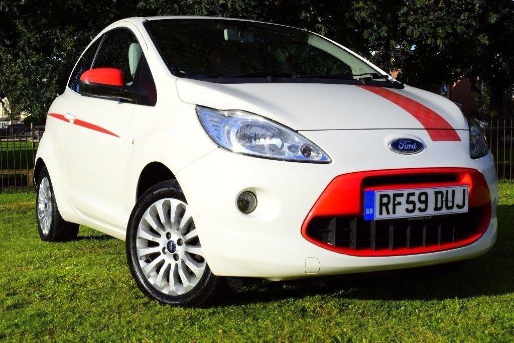 Ford Ka   Petrol Hatchbacklavish Interior Red White New