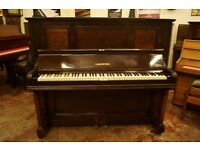 C. Bechstein circa 1880 mahogany upright piano - Tuned & UK delivery available