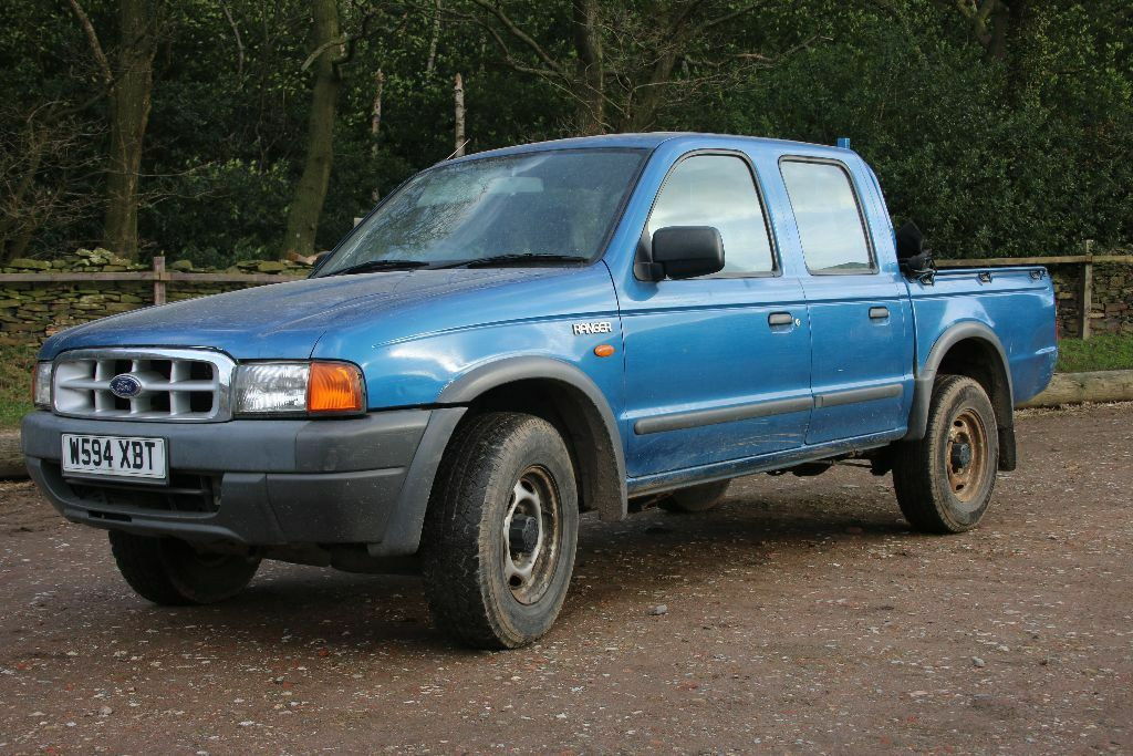 ford ranger 2 5 turbo diesel double cab 2000 in. Black Bedroom Furniture Sets. Home Design Ideas