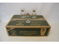 24 John Smiths Extra Smooth Pint Glass GT 746