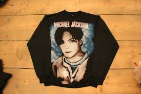 Vintage Wholesale! 90's Music Pop/Rock Sweatshirts Michael Jackson/Offspring/Bon Jovi Rare!