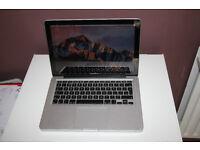 "MacBook Pro 13"" late 2011 i5 4gb ram 750gb hd"