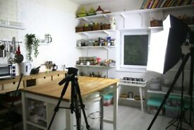 Kitchen Studio for Hire - Create Youtube Videos or Take Amazing Food Photos!