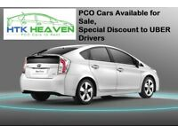 Toyota Prius for Hire Rent PCO UBER READY, From £99/week T Spirit PCO Cars With Insurance