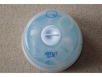 Philips AVENT Baby Microwave Steam Compact Bottle Steriliser (includes 3 bottles)