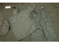 Rare!! Current French Army/Foriegn Legion ECWS COLD WEATHER Suit, ideal for Fishing (as new)