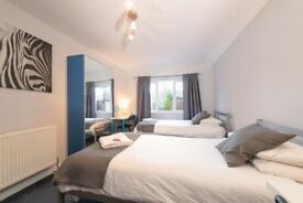 Superb warm clean short-term rooms for Students studying in Edinburgh for one semester