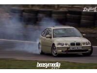 2002 e46 BMW 325ti road legal drift car