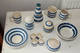 china blue and white kitchenware