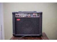 Four Used Guitar Amplifiers - (Hiwatt, Stagg, Commodore, Tronics)