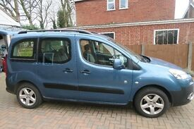 Peugeot Partner Teepee Outdoor HDI. Low Miles. Full Service History.