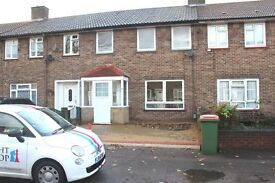 3 bedroom house, largegarden, front driveway space for two cars, close to Custom House DLR station.