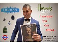Harrods suit Boglioli blue