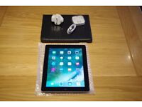 Apple iPad 4 4th Generation 16GB Wi-Fi 9.7in A1458 bundle