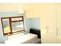 FULLY FURNISHED LARGE 2 BEDROOM HOUSE WITH GARDEN - 5 MINS WALK TO HATTON CROSS STATION