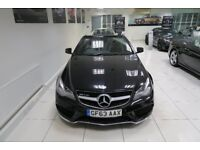 MERCEDES-BENZ E CLASS 3.0 E350 CDI BlueTEC AMG Sport Cabriolet 7G-Tronic Plus 2dr Auto (black) 2013