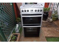 BEKO ELECTRIC COOKER 50 CM DOUBLE OVEN LIKE NEW