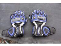 Scott Leathers Motorbike gloves