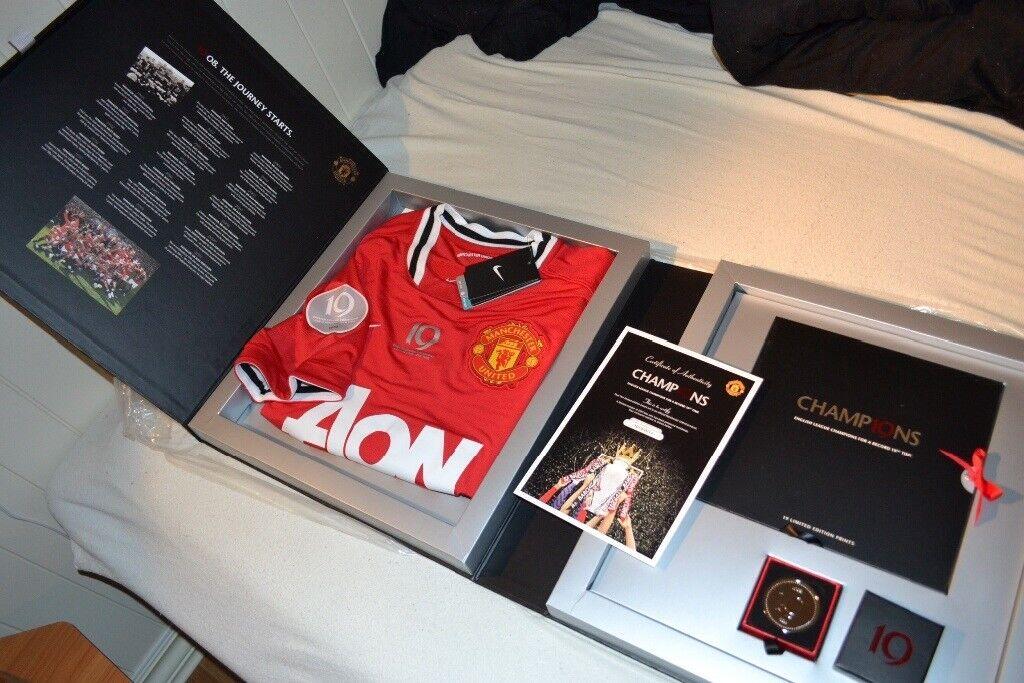 Man united champions boxset immaculate