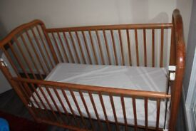 Baby /Toddler Cot and Mattress