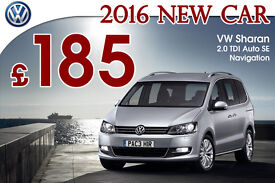 2016 VW Sharan hire 7 seater - UBER ready - PCO hire / rent