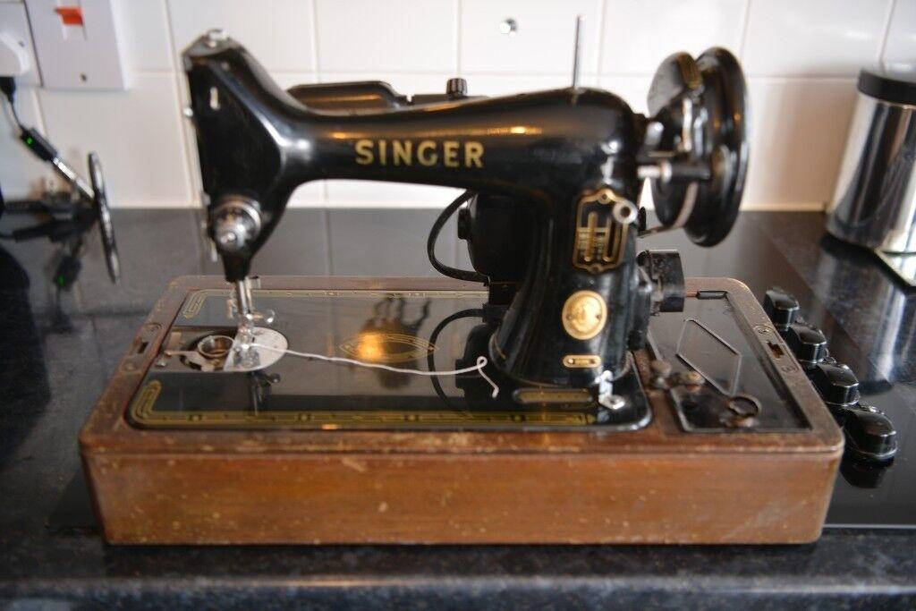 Vintage Singer Sewing Machine 40k In Stevenston North Ayrshire Adorable Singer Sewing Machine 99k Price