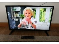 Bauhn 32in Full HD, LED TV/DVD Combo, Freeview, 3xHDMI, USB, 6 month old, RRP £189, VGC