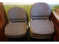 Five Office , Conference , Meeting Room Type Chairs Stackable