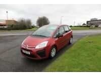 CITROEN C4 PICASSO 1.6 LX HDI,2008,1 Previous Owner,Service History,Air Con,Cruise,Very Economical