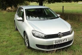 VW Golf 1.6 Bluemotion Diesel. '59 reg, new MOT and recent service. Only 35k miles!
