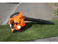 Petrol leaf blower as new