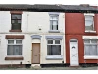 52 Hawkins St, Kensington, Liverpool. 2 bed mid terrace with GCH & DG, fitted kitchen. DSS welcome