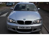 BMW 1 Series M Sport 120d Silver Low Price great conditions Angel headlights