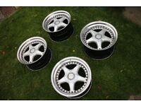 OZ Fittipaldi 500 Modular 8.5 / 10 x 17 ET 13 / 19 5x120 Alloy Wheels Deep Dish Split BMW