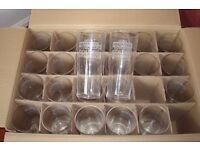 BRAND NEW BOX OF 24 PINT GLASSES FOR ONLY £8