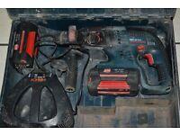 Bosch 36 v 2.6 ah Cordless SDS Hammer Drill