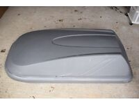 Car Roof Top Box. Minor scrathes and a small crack which can be repaired easily