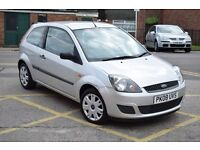 08 PLATE FORD FIESTA STYLE 1.2,LOW MILEAGE*3 MONTHS WARRANTY &BREAKDOWN COVER*LONG MOT,JUST SERVICED