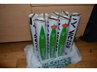 Victor Gold Champion Feather Shuttlecocks, BWF Approved international game standard