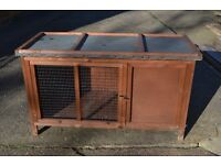 Rabbit Guinea Pig Hutch Brand New Roof Delivery Available Rushden 4Ft x 2Ft