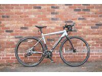 Womens Large Boardman Road Cyclocross Hybrid Bicycle Bike Carbon Fork