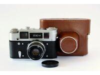 Russian FED4 Rangefinder film camera