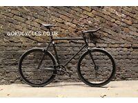 SALE ! GOKU cycles Steel Frame Single speed road bike TRACK bike fixed gear bike racing bike S