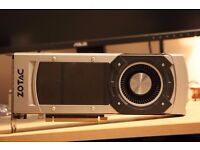 Zotac GTX 980 reference model 4gb, backplated