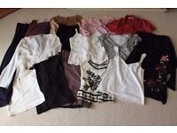 Huge Ladies Clothing Bundle Mostly 8-10 fits (28 pieces)
